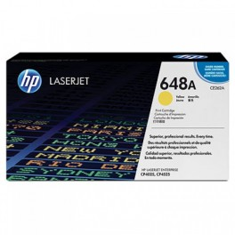 Toner HP 648A [HP CE262A] Yellow