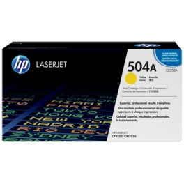 Toner HP 504A Yellow [CE252A]